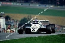WILLIAMS FW08 . Photo. Keke Rosberg 1982 Austrian GP